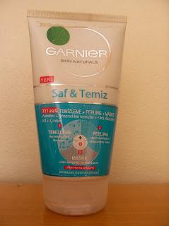 Garnier Skin Naturals temizleme, peeling, maske