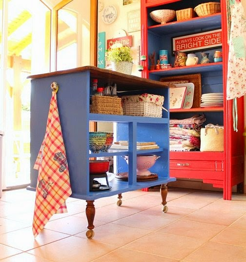 Dishfunctional Designs Upcycled Awesome Kitchen Islands Made From