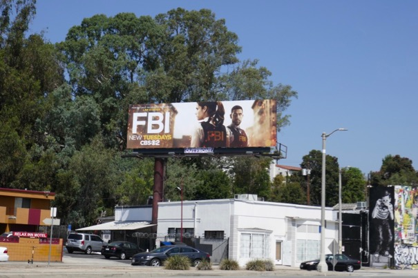 FBI TV series billboard