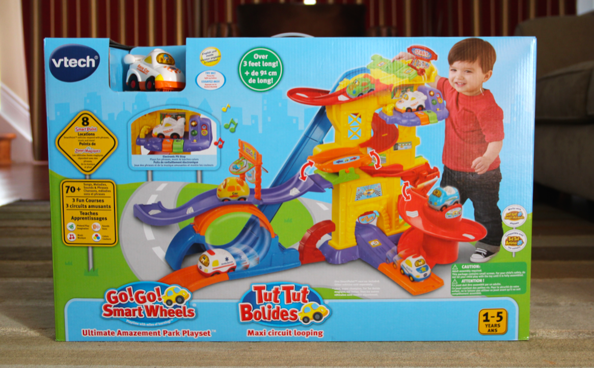Go! Go! Smartwheels Ultimate Amazement Park Playset by VTech