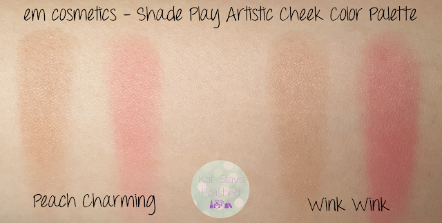 Em Cosmetics | Ipsy - Shade Play Cheek Palette | Kat Stays Polished
