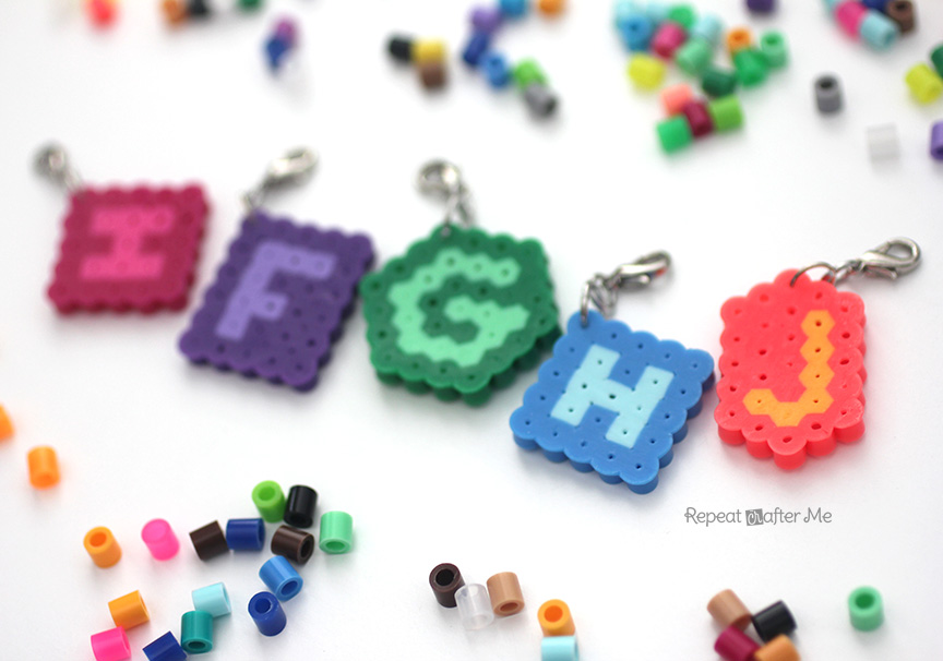 Perler Bead Stitch Markers Repeat Crafter Me