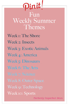 Summer: Fun Weekly Themes by Fallan