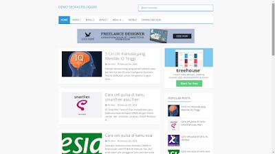 SeoFastBlogger - Blogger Template Dan Responsive,Simple,Cepat