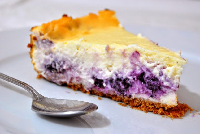 http://confettiblues.wordpress.com/2011/02/18/baked-blueberry-cheesecake-recipe/