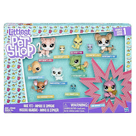 Littlest Pet Shop Series 1 Multi Pack Lilac Bunnyton (#1-133) Pet