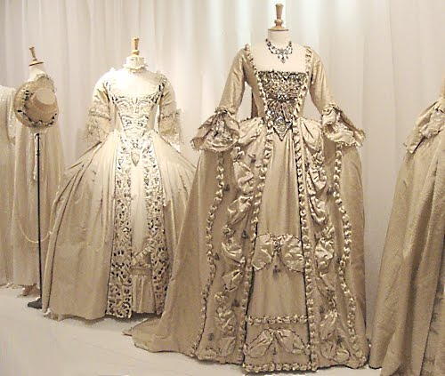Wedding Dresses Worn By Helena Bonham Carter In Frankenstein 1760s And Keira Knightley The Ss 1774