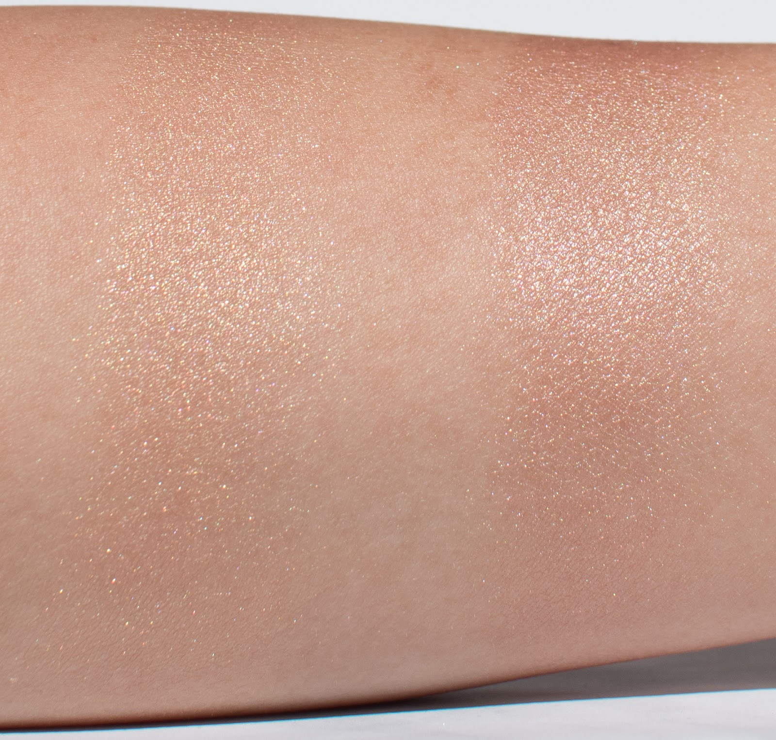 Makeup Geek Highlighter in Rekindle Swatch