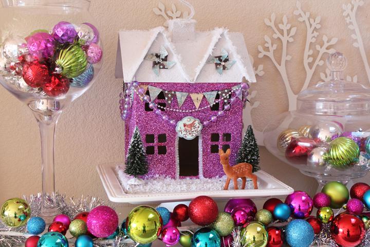 Glitter holiday houses swell noel idea 9 positively splendid glitter holiday houses swell noel idea 9 positively splendid crafts sewing recipes and home decor teraionfo