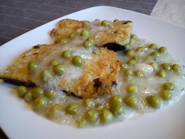 No pescado en salsa verde