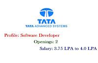 Tata-Advanced-Systems-software-developer