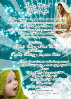 Tarjeta de Invitación de Jesús para Cumpleaños, Bautizo, Bautismo, Primera Comunión Dorada