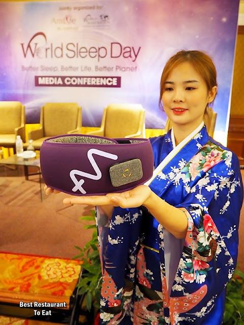 Amlife International Sdn Bhd - AmPower Platinum Heat Sleep Mask