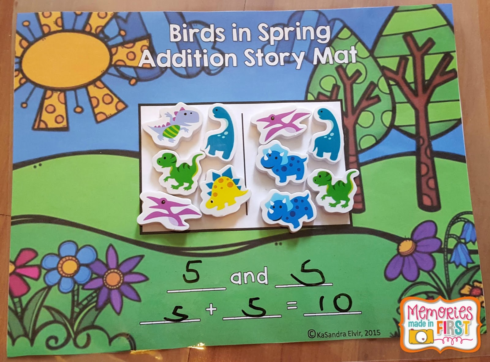 Memories Made In First Intro To Addition Math Games And