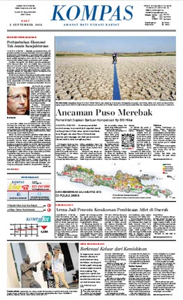 Kompas, Edisi, Rabu, 5 September 2012