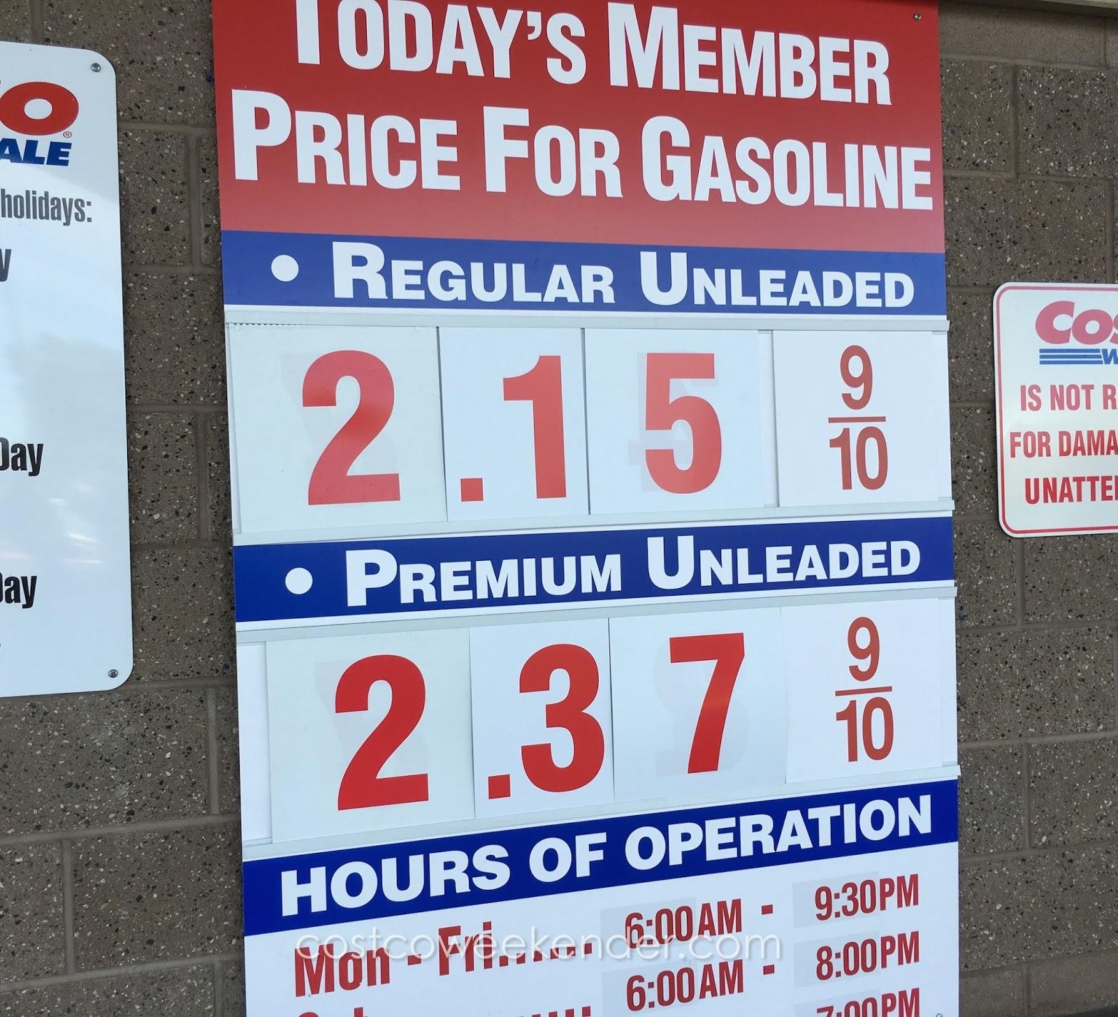 Gas Prices Costco