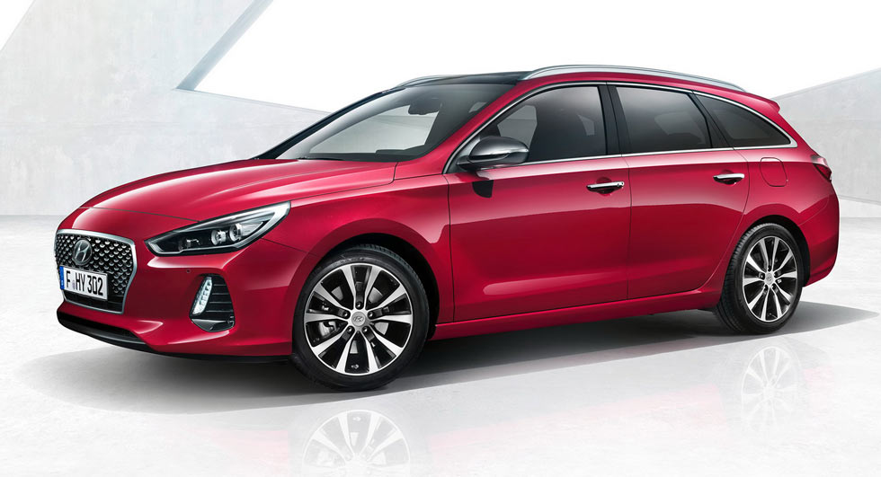 New Hyundai i30 Tourer - first pictures