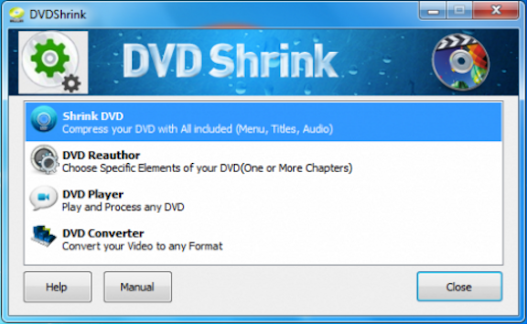 Driverapps: DVD Shrink 2017 Free Download