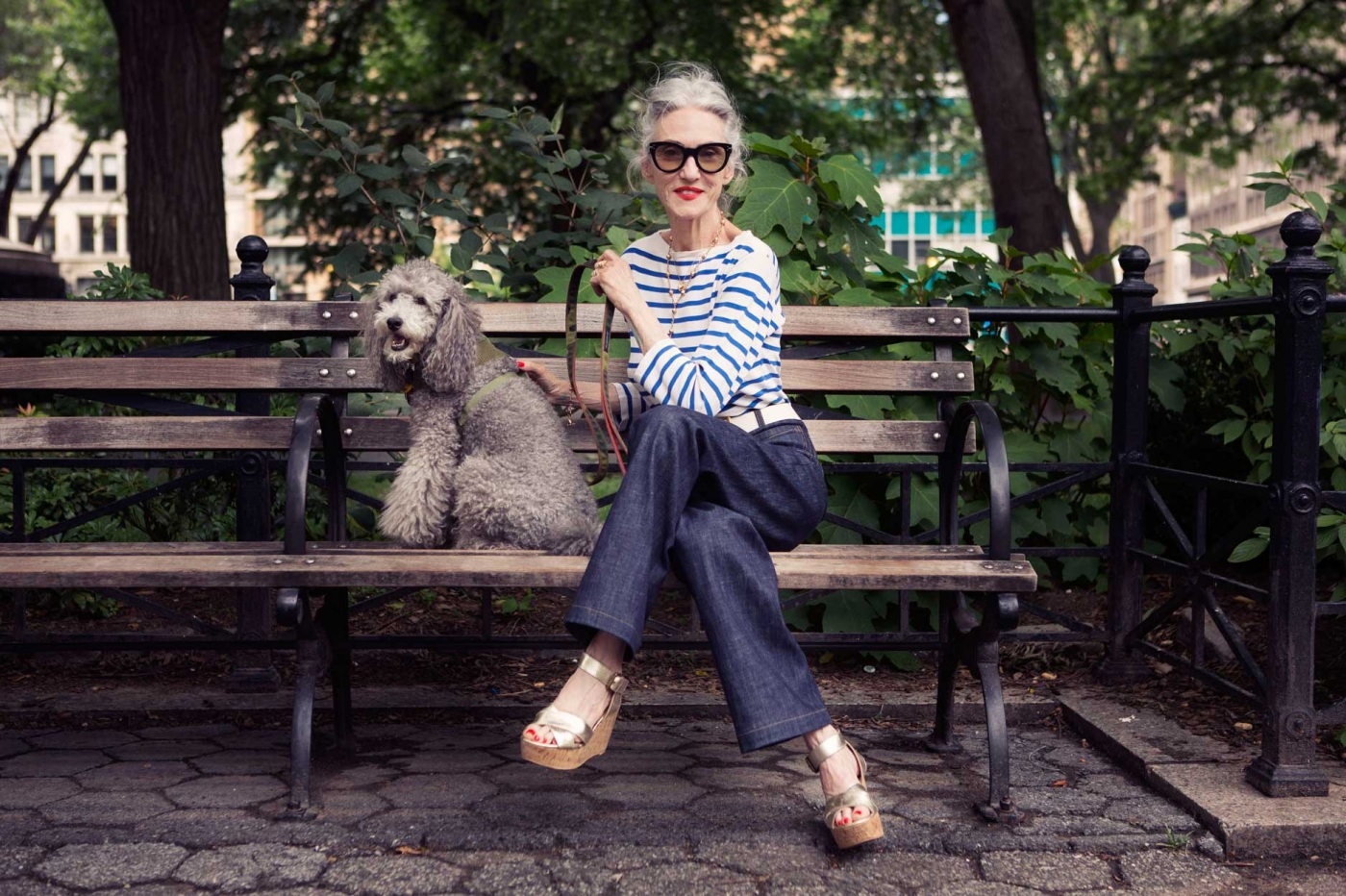 Alter, sehen die toll aus...! Linda Rodin and Winky