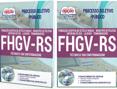 apostila Fundação Hospitalar Getúlio Vargas - FHGV