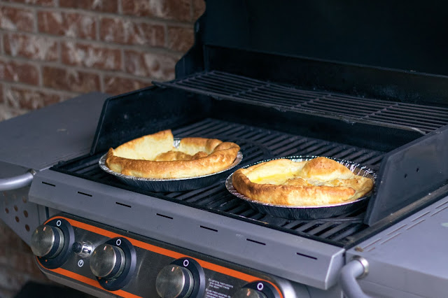 Popover Pancakes Recipe on the Grill