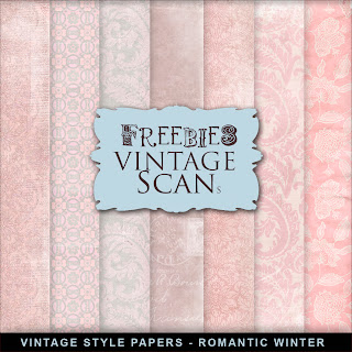 Freebies Winter Paper - Romantic Winter