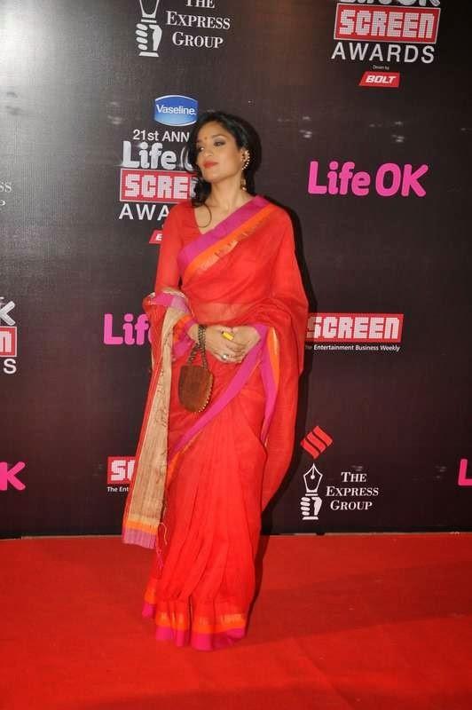 Sandhya Mridul, Evelyn Sharma, Tabu At Screen Awards 2015
