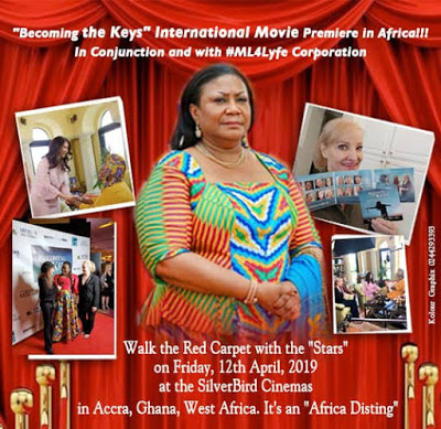 "Robin Jay's ""Becoming The Keys"" Premieres In Ghana On April 12 With The First Lady As Special Guest"
