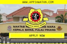 Jawatan Kosong di Maktab Rendah Sains Mara - 6 Ogos 2018