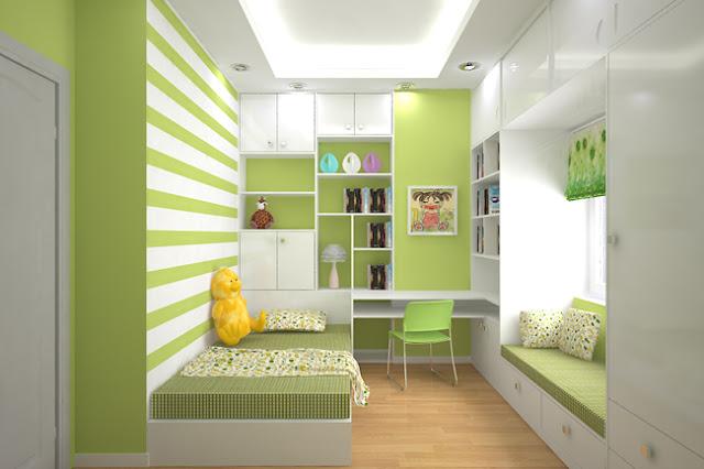 Inspirasi Desain Interior Kamar Tidur Ukuran Kecil Yang ...