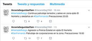 Atacan a balazos a convoy de polcias en San Fernando Tamaulipas