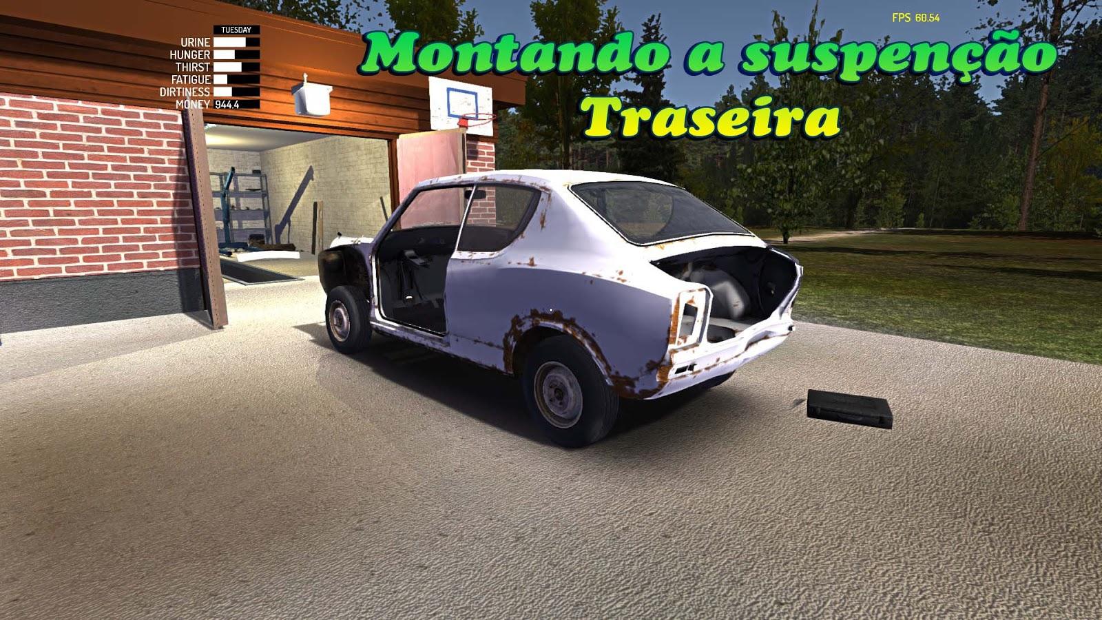 Tutorial Montando A Suspensão Traseira My Summer Car Brasil