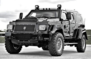 Knight XV Armored Most Expensive SUV Front