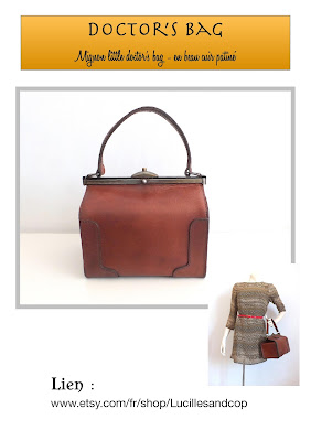 doctor bag,sacdocteur,messenger bag,satchel bag,working girl