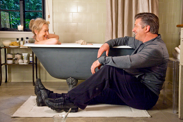 It's Complicated movie Meryl in bathtub with Alec Baldwin