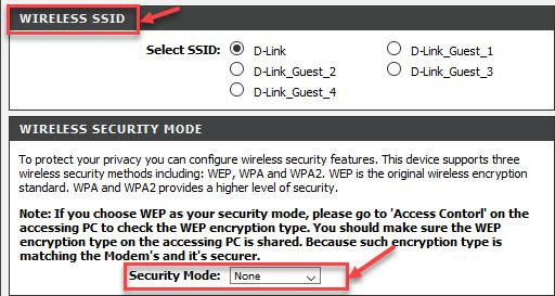 routerWswitch: How to change dlink DSL-224 wifi Username