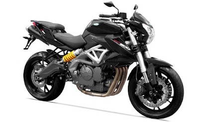 Benelli TNT 600i ABS right angle black color image