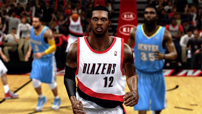 NBA 2K13 LaMarcus Aldridge Cyberface Mod