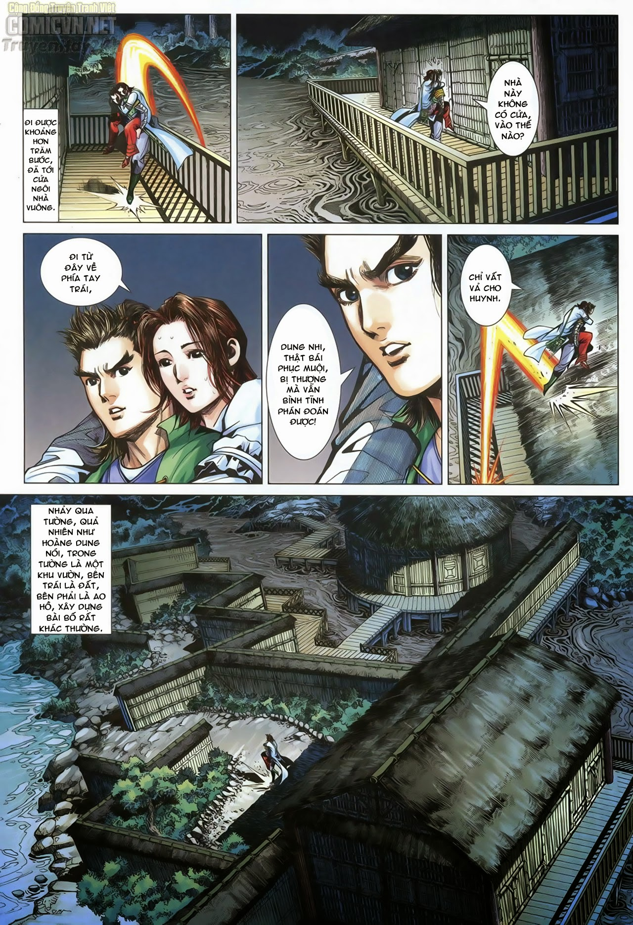 Anh Hùng Xạ Điêu anh hùng xạ đêu chap 70: hắc chiểu ẩn nữ trang 11