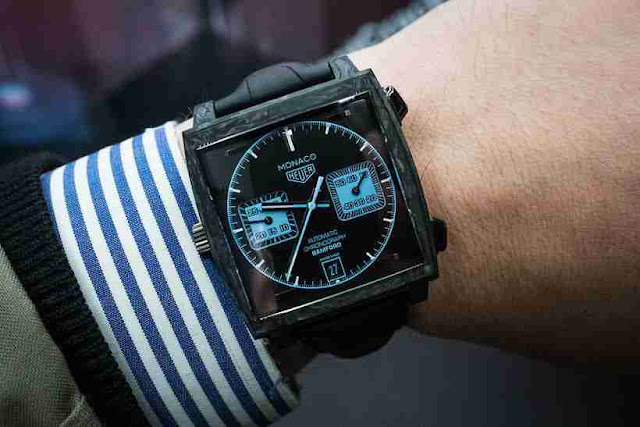Baselworld 2018 Réplique Montre TAG Heuer Monaco Bamford Chronographe Automatique De Luxe