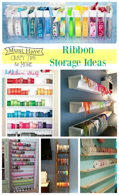 Creative Ribbon Storage Ideas