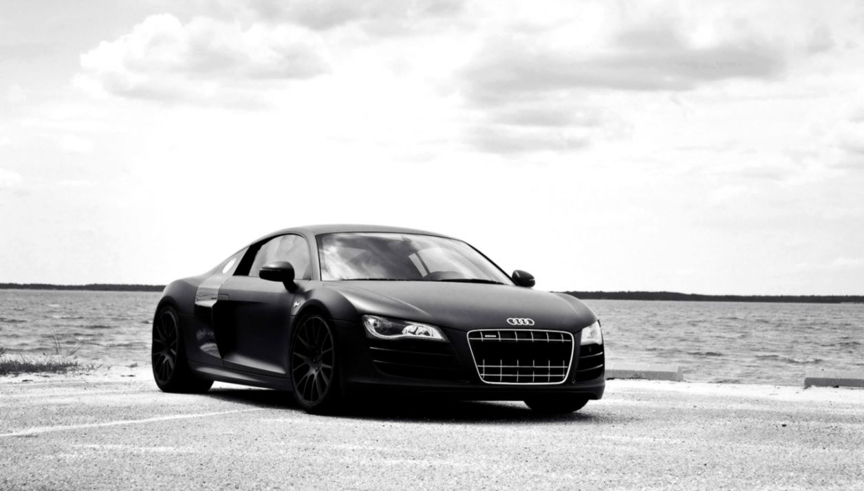 Audi R8 Matte Black Wallpaper List Wallpapers