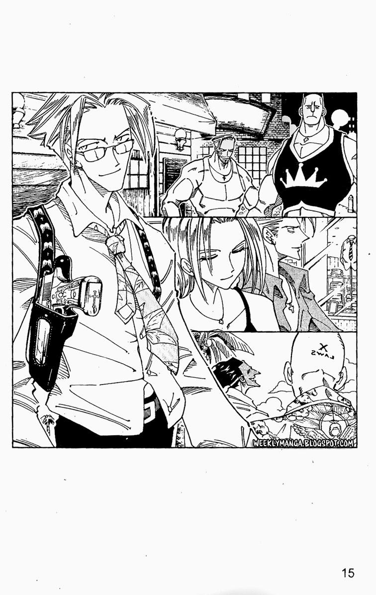 Shaman King [Vua pháp thuật] chap 104 trang 15