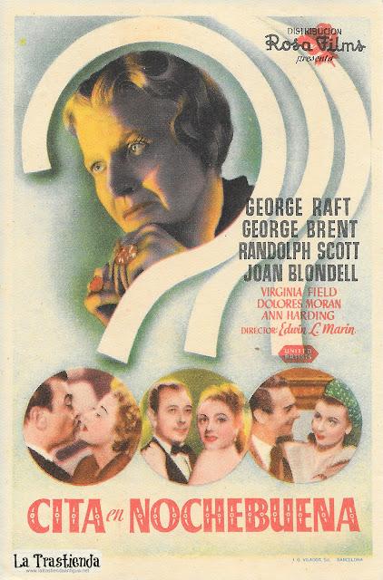 Cita en Nochebuena - Programa de Cine - George Raft - George Brent - Joan Blondell