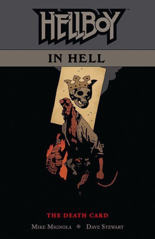 Hellboy in Hell Vol. 2. Hellboy created by Mike Mignola Colors: Dave Stewart Letters: Clem Robins Design: Cary Grazzini.