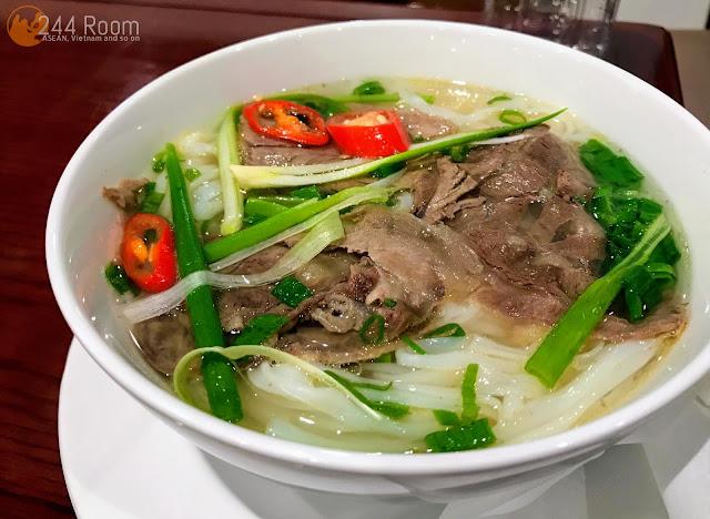 Noibai Airport Lounge pho noodle ノイバイ空港のフォー