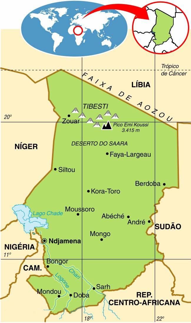Chade, Aspectos Geográficos e Socioeconômicos do Chade