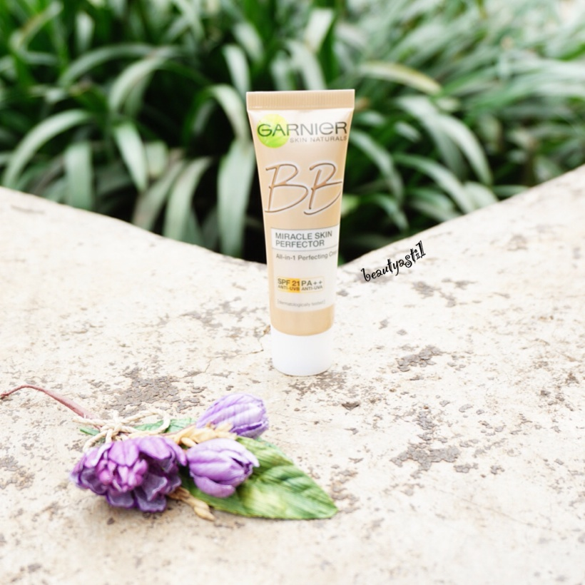 GARNIER BB CREAM MIRACLE SKIN PERFECTOR - REVIEW | BeautyAsti1
