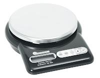 Cantar electronic de Bucatarie , cu baterii limita greutate este de  5 kg - acuratete pana la 1 gram, include timer de bucatarie, carcasa din plastic cu platan din otel inoxidabil