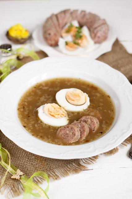 jak przygotować zupę chrzanowa